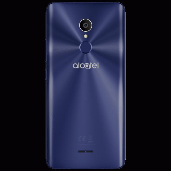 Синий Alcatel 3C сзади