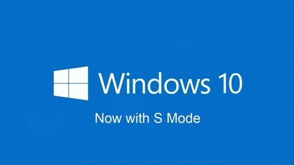 Windows 10 с S-режимом