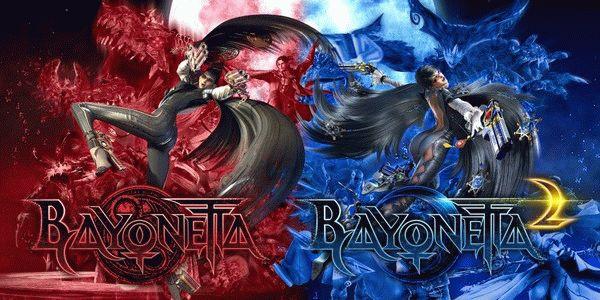 Постер совместного издания Bayonetta